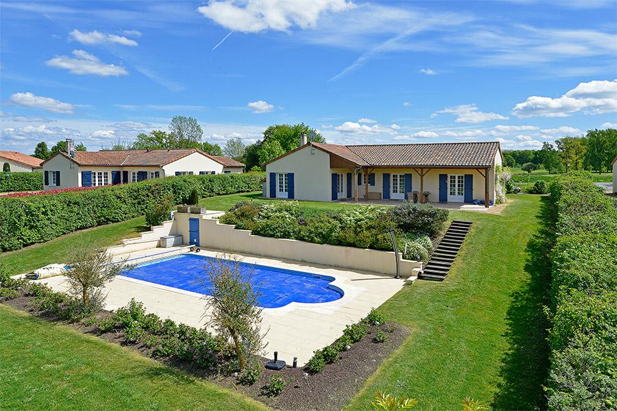Villa 6 pers. supérieur met zwembad