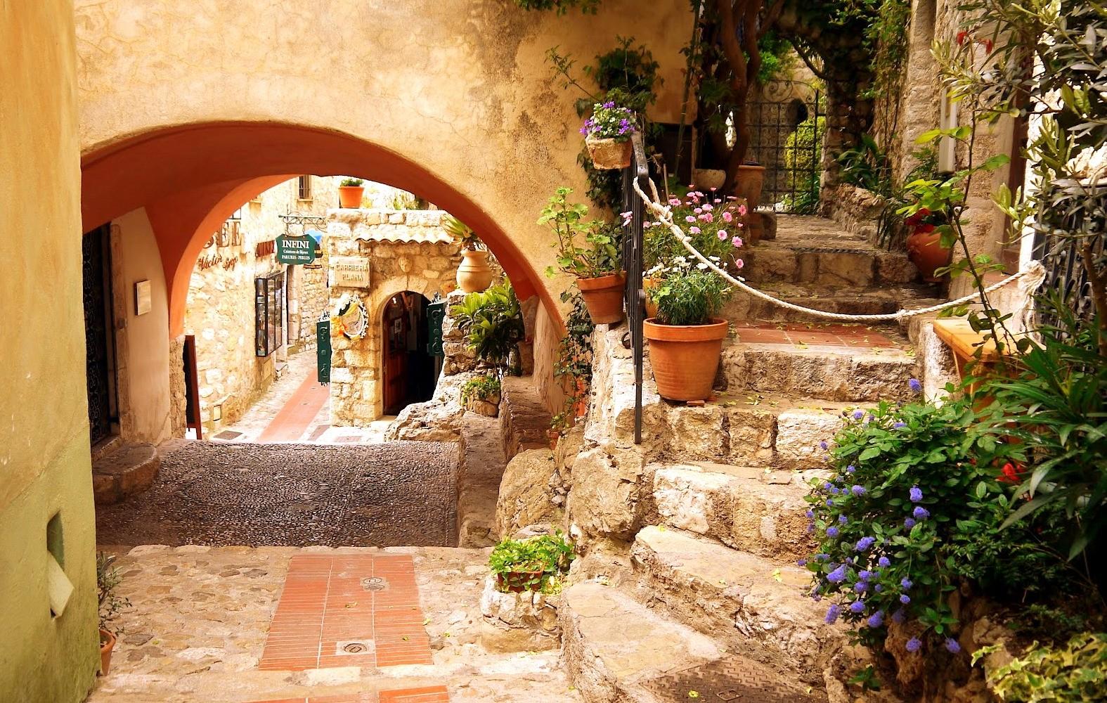 Eze Medieval Tourist Village Francecomfort Holiday Parks