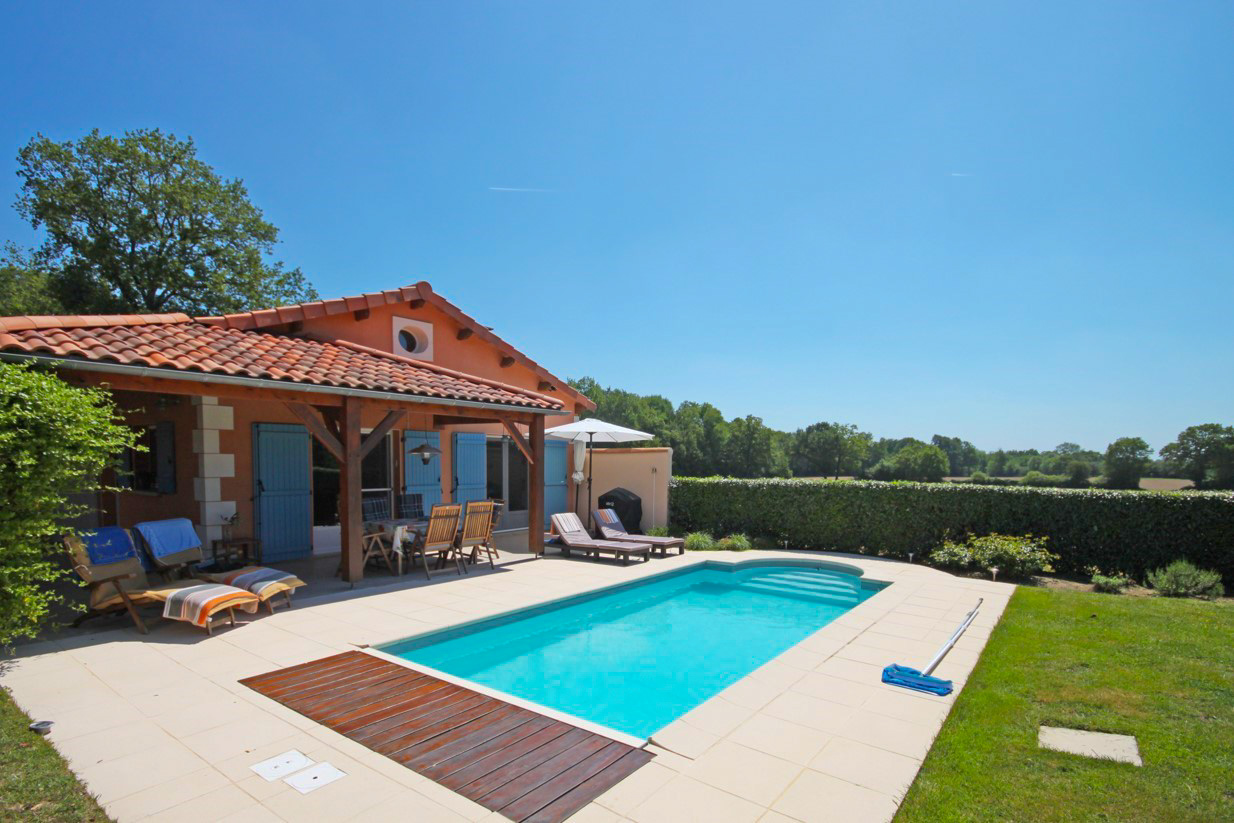 4 pers. villa, privé zwembad
